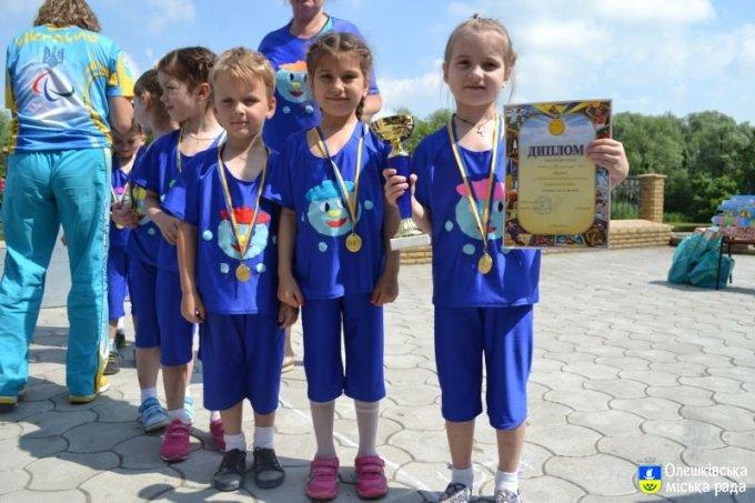 День захисту дітей на центральній набережній міста (фото)