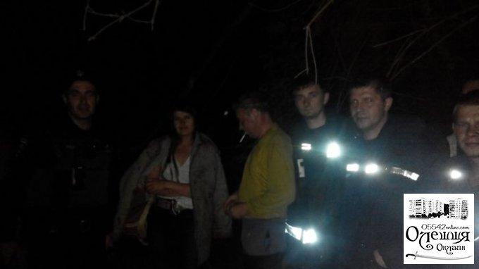Група рятувальників знайшла заблукалу людину
