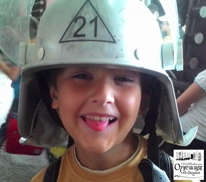 Діти не залишають в спокої Олешківських рятувальників