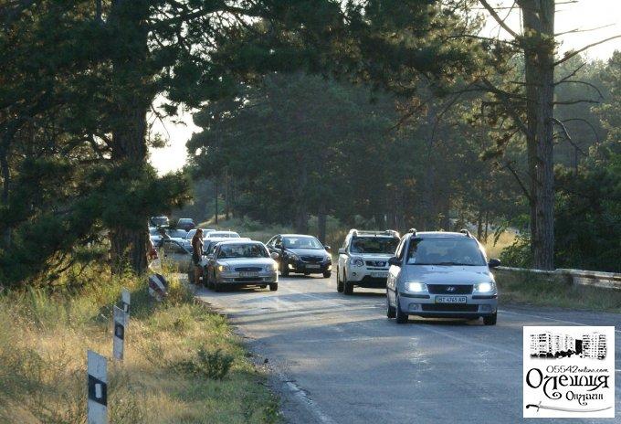 Возле Олешек ДТП с участием пяти машин (фото)