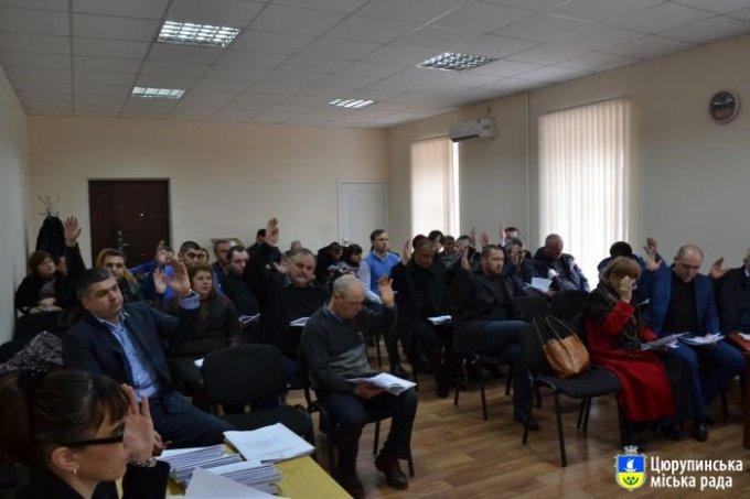 В Олешках пройде позачергова сесія міської ради