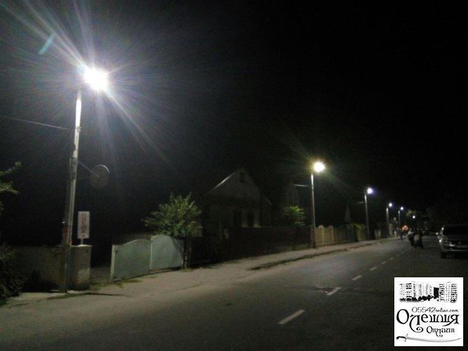 В Олешках стало еще светлее