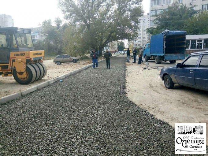 Городяни в Олешках нарешті отримали омріяну дорогу до своїх будинків