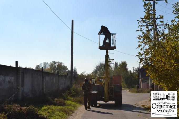 Останню чергу вул. Віктора Гошкевича підключено до сучасної системи вуличного освітлення