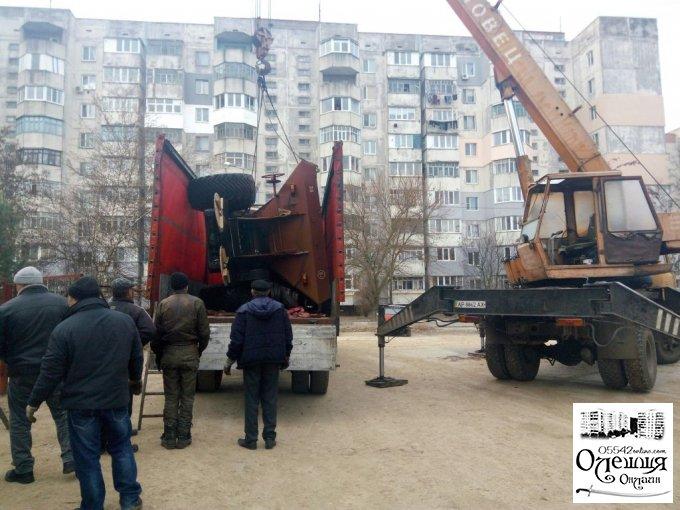 Олешківськи комунальники отримали нову техніку