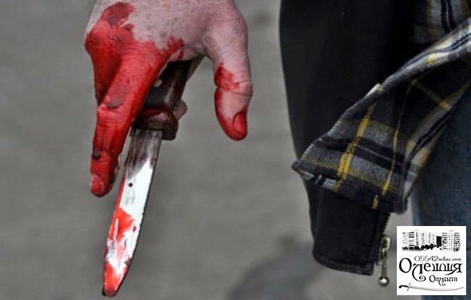 Нетрезвый житель Олешек ударил ножом посетителя кафе