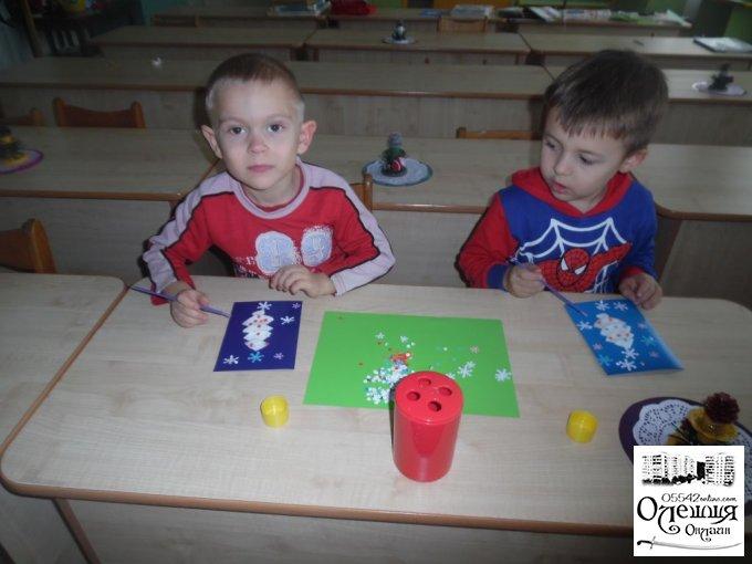 Діти в Олешках готують подарунки захисникам нашої країни