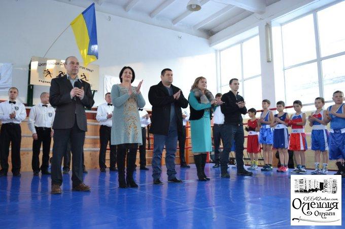 Відкриття чемпіонату з боксу «Олешківські ігри - 2016»