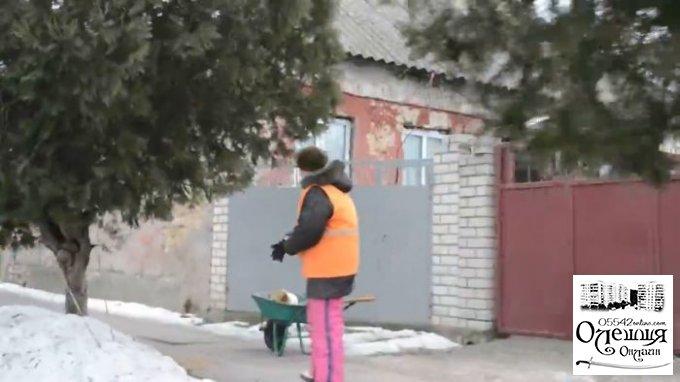 Роз'яснення щодо роботи комунальних служб міста Олешки в зимовий період (відео)