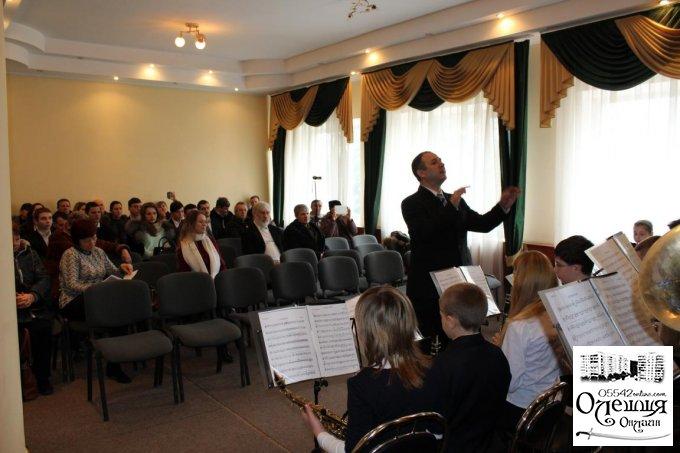 Майстер-клас для викладачів духових інструментів  в Олешках