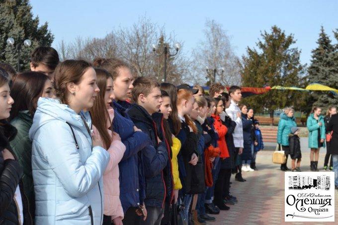 Олешками пройшла «Велика українська хода»