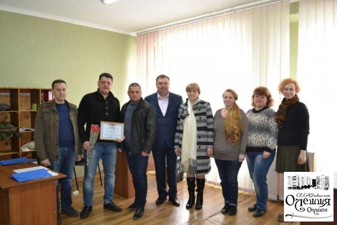 В Олешках привітали працівників комунальних підприємств с професійним святом (фото)