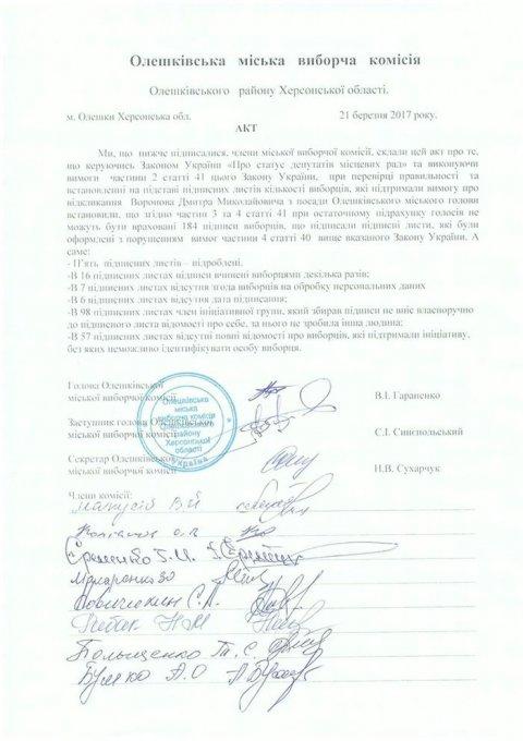 Подписи против Дмитрия Воронова собирали на кладбище?