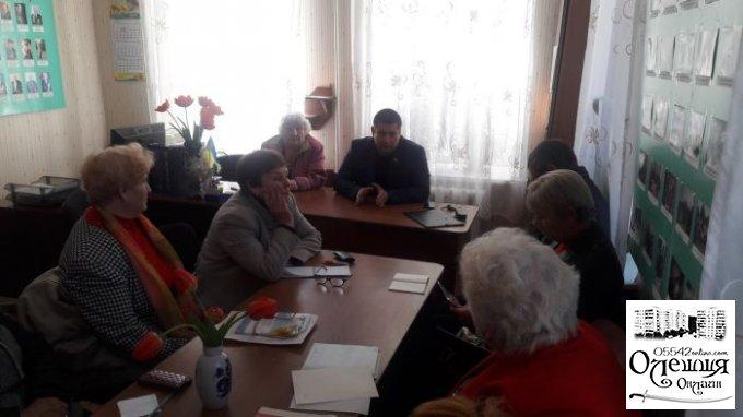 Відбулося засідання президії міської ради ветеранів