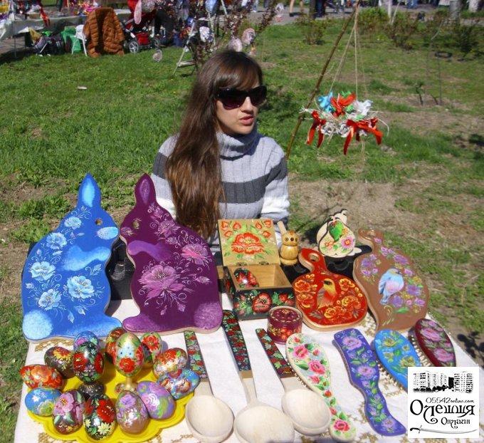Майстри Олешшя на обласній Великодній акції