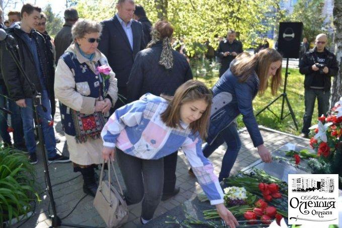 В Олешках відбувся мітинг присвячений 31-ї річниці аварії на Чорнобильській АЕС