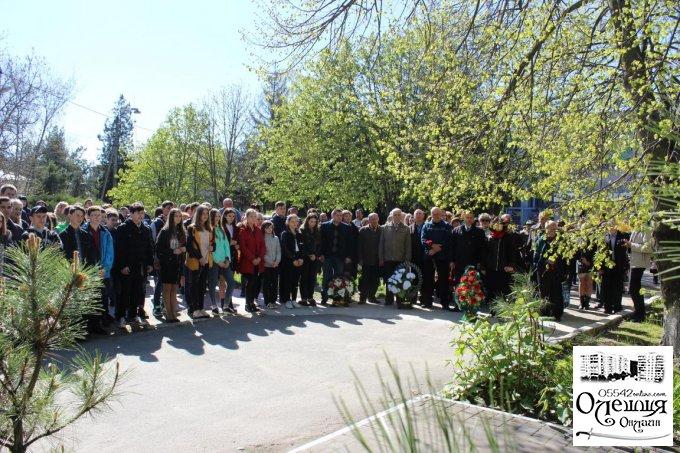 Мітинг до річниці катастрофи на Чорнобильській  АЕС