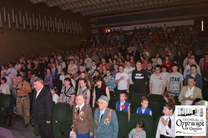 Святкування Дня Перемоги в Олешках (фото, відео)