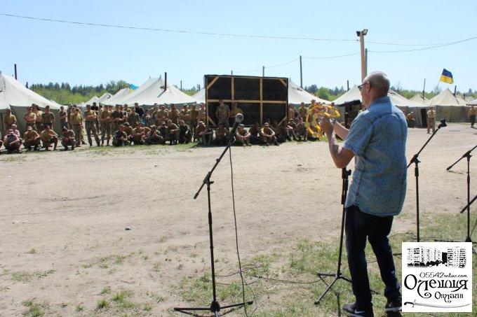 Аматори м. Олешки в гостях у батальйону «Київська Русь»