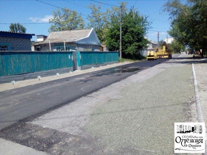 Капітальний ремонт доріг та тротуарів продовжується