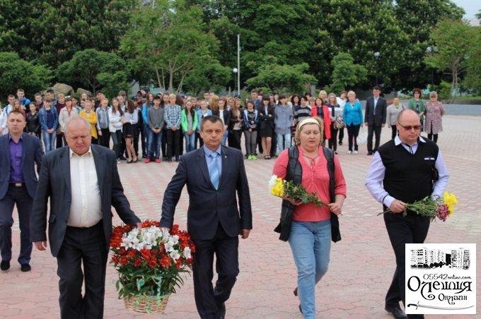 В Олешках вшанували жертв Великого терору