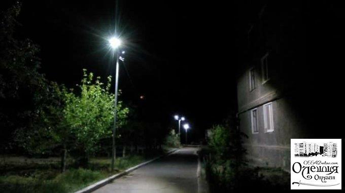 Кому тепер слід чекати сучасного освітлення в Олешках?