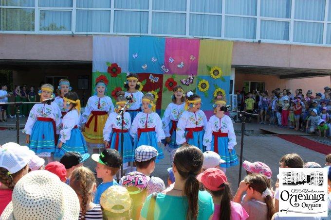 У Олешках привітали наймолодших мешканців.