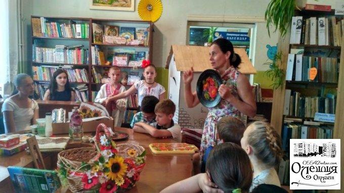 Змістовний відпочинок дітей влітку в Олешківській  міській бібліотеці №3