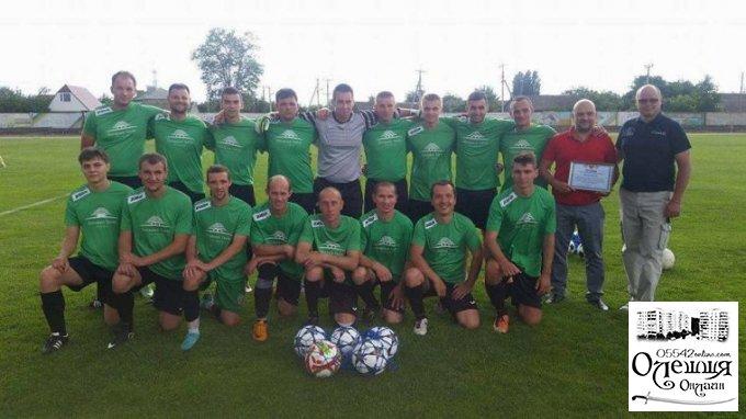Підтримка футболу в Олешках стає доброю традицією з боку влади