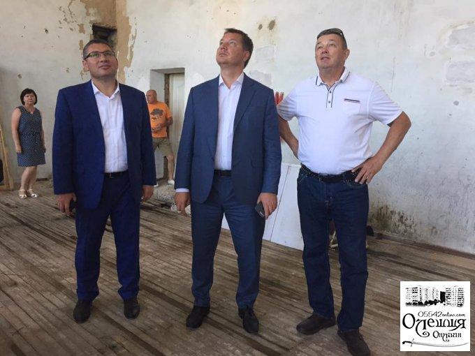 """На стадіон """"Старт"""" в Олешках чекають великі позитивні зміни"""