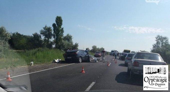 Смертельное ДТП на трассе между Олешками и Голой Пристанью