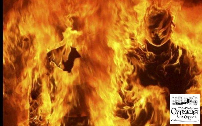 Дети и взрослые горели живьем в микроавтобусе в Олешковском районе