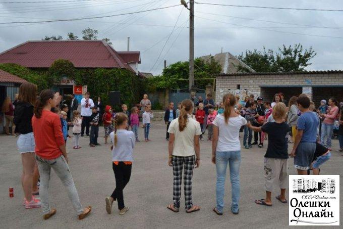 З нагоди Дня Незалежності України для мешканців району Хуторище відбулося свято
