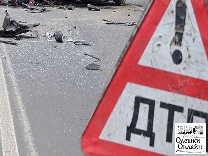 После ДТП В Олешковском районе в больницу попали 5 человек