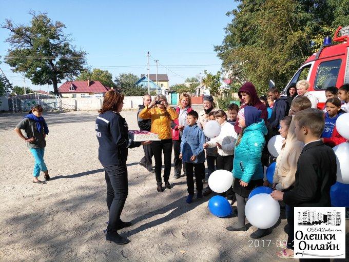 Рятівники подарували дітям свято