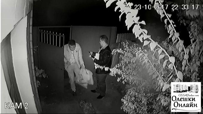 Бандитский беспредел олешковского депутата (видео)