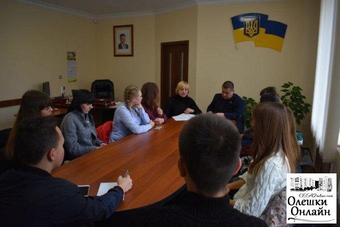 Відбулась зустріч міського голови з учнівським активом міста