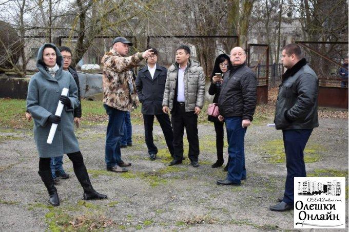 До Херсонщини прибула з візитом делегація з Китаю