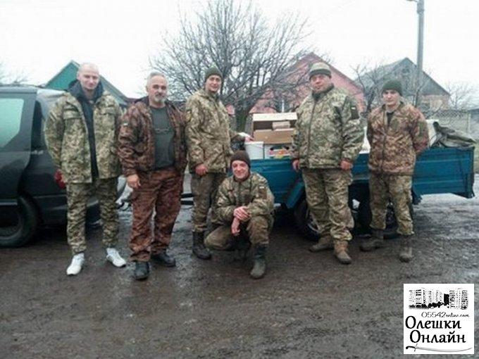 Вітання військововслужбовців з Новорічними та Різдвяними святами