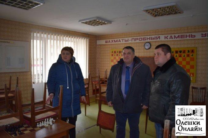 Олешківський міський голова провів цікаву зустріч