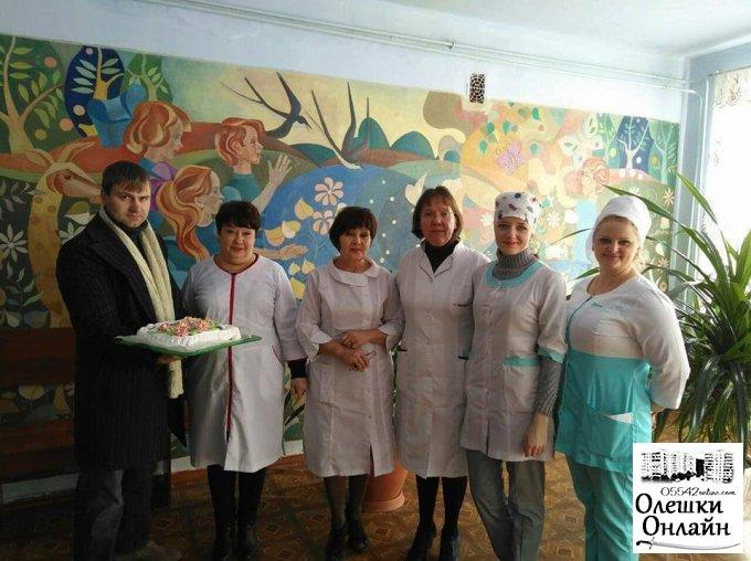Результат благодійної акції в Олешках