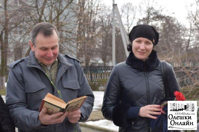 В Олешках відзначили річницю з дня народження Т.Г.Шевченка