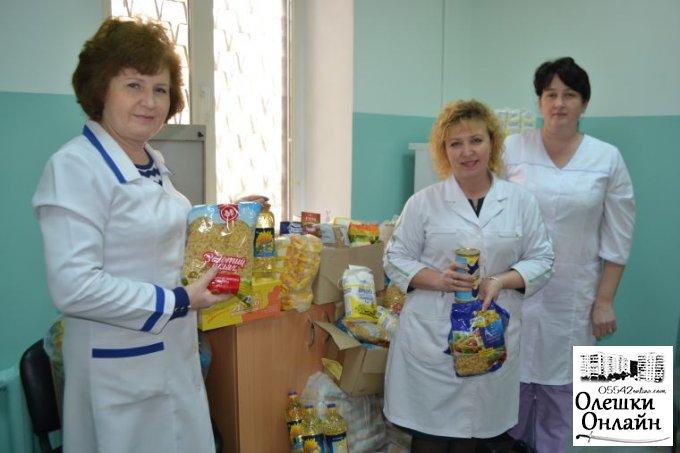 Допомога хворим на туберкульоз в Олешках