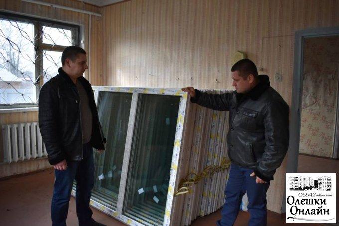 Реалізація в Олешках програми енергозбереження