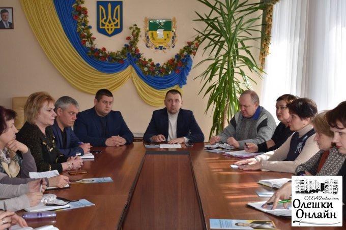Дмитрий Воронов об отношениях между городским и районным советом в Олешках