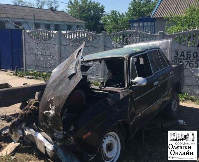 Сегодня на дорогах Олешковского района погибли пассажир и пешеход