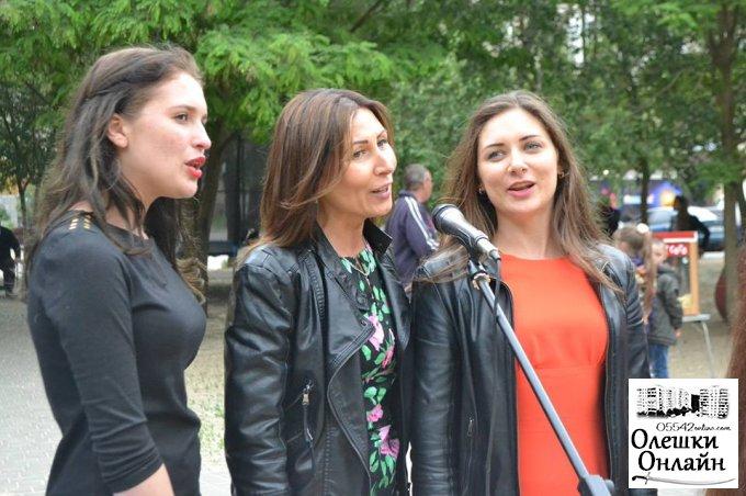 Святковий концерт в Олешках до Дня Перемоги