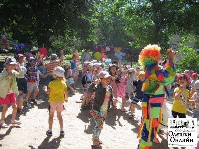 День захисту дітей в Олешках