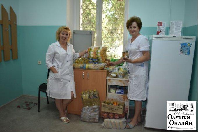В Олешках продовжують допомагати хворим на туберкульоз