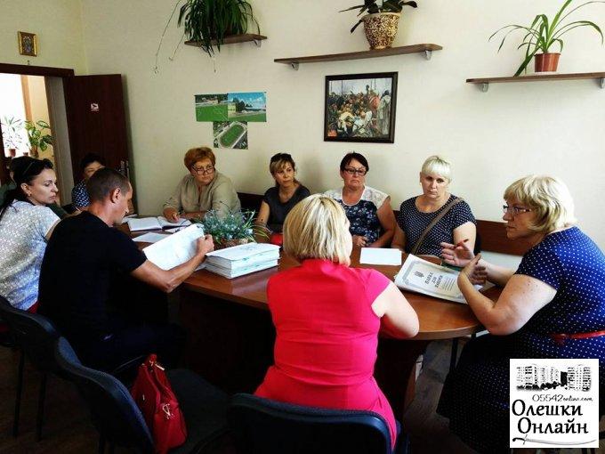 Підготовка до опалювального періоду в Олешківських навчальних закладах